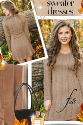 Sweater Dresses Fall Style