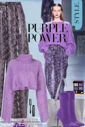 Purple Power Style