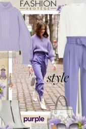 Fashion Protege Purple Style