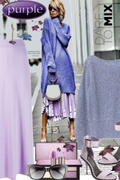 Purple....Dare to Mix