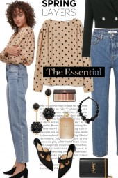 The Essential Polka Dot Blouse
