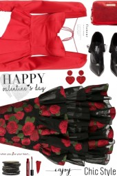 Valentines Day Chic Style