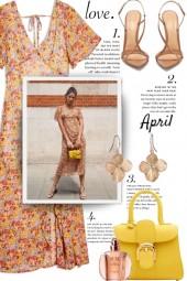 Love, April......