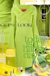 Get The Look in  Lime