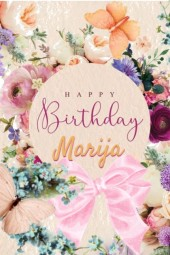 Happy Birthday Marija