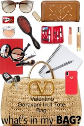 What's in My Valentino Garavani In.It Tote Bag ...