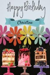 Happy Birthday Christine