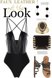 Faux Leather...Get The Look