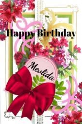 Happy Birthday Mevlida