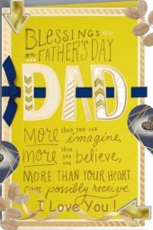 Blessings on Fathers Day