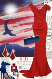 Stand Out in Red, White, and Blue