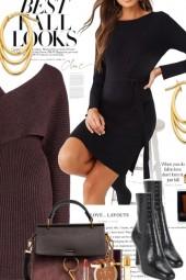 Best Fall Looks..Sweater Dresses