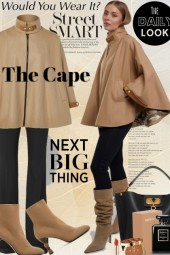 Would You Wear It...The Cape Jacket