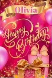 Happy Birthday Olivia Larson