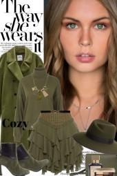 The Way She Wears It...Cozy Fall