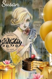 Happy Birthday Dear Susan