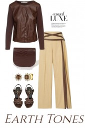 Casual Luxe Earth Tones