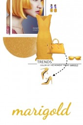 Trends Color of the Moment...Marigold
