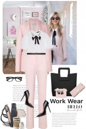 WORKWEAR IN PINK AND BLACK