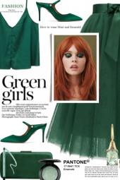 GREEN GIRLS