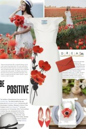 Be Positive in Poppies