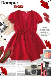 The Little Red Romper