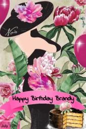 Happy Birthday To Brandy