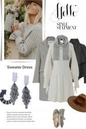 Hello Sweater Dress