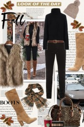 Look of the Day Fall Boots