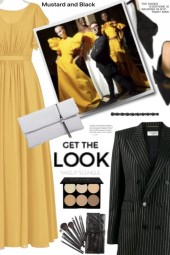 Get the Look Mustard and Black