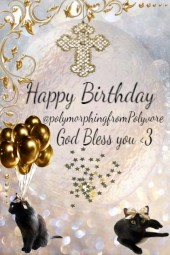 Happy Birthday @polymorphing from Polyvore
