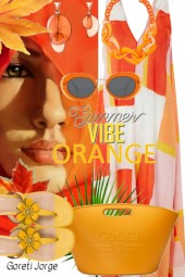 Orange -  vibe Summer