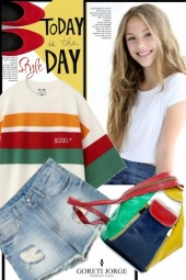 Denim & colorful