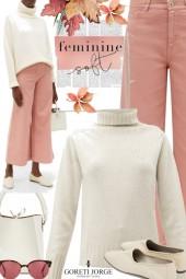 Feminine soft - Autumn sweater