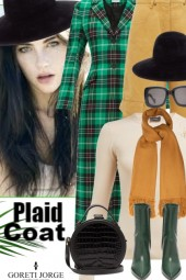 Plaid Coat Trend Fall