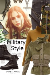 Military Fashion Style