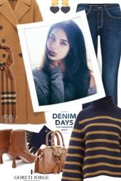 Stripes Sweater-Denim Days
