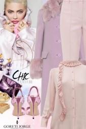 Adorable Purple & pink