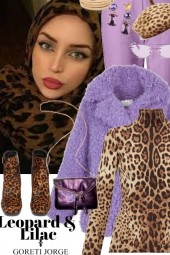 Leopard and Lilac Look