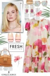 Floral Fresh Dress