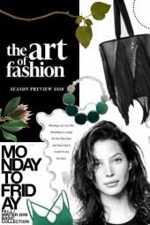 Print of Fashion and Art