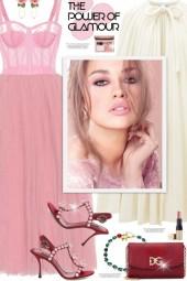 Pink Tulledress