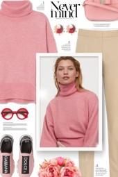 Cream & Pink
