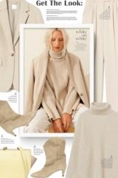 #White on white