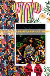 STYLE FILE: PRINT AND PATTERNS