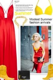 Modest Summer fashion arrivals