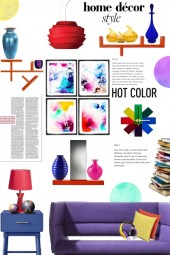 Hot color - home