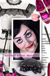 Halloween Bucket - Marionette