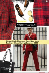 Street Style Moments from New York Fashion Week Sp