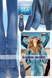 double denim